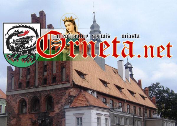Zwiedzanie miasta Orneta