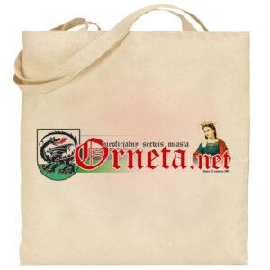 Torba eko - Orneta.net (ecru)