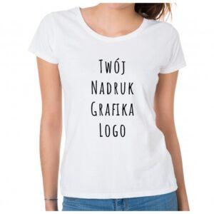 Koszulka z własnym nadrukiem - damska